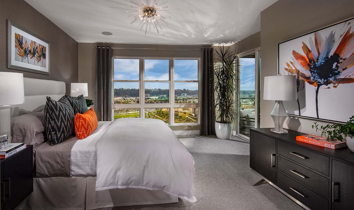 Promontory Plan 8 Model Home Master Suite
