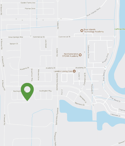 Tidewater Neighborhood Map