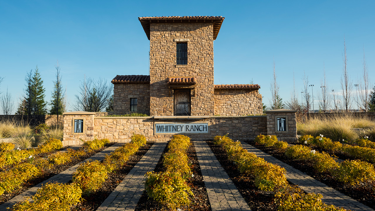 Whitney Ranch entrance