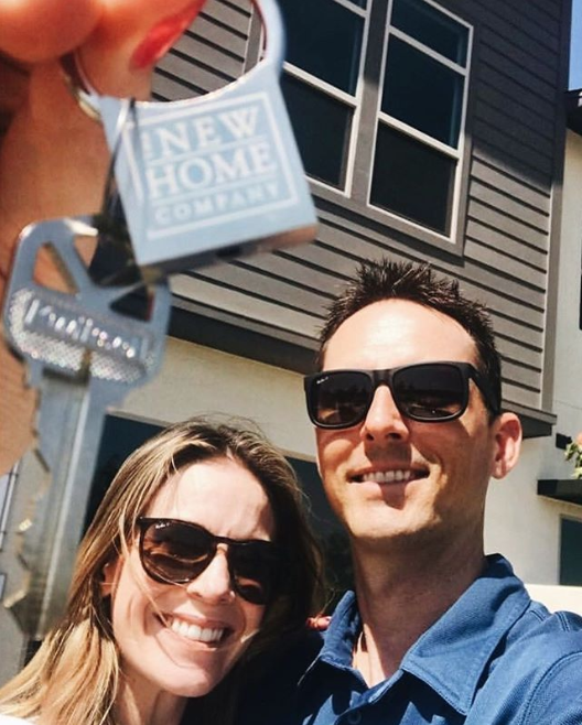 Home is where your story begins. Congrats to the happy NEW HOME owners at Rancho Mission Viejo!