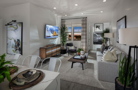 Model Home Interior Image