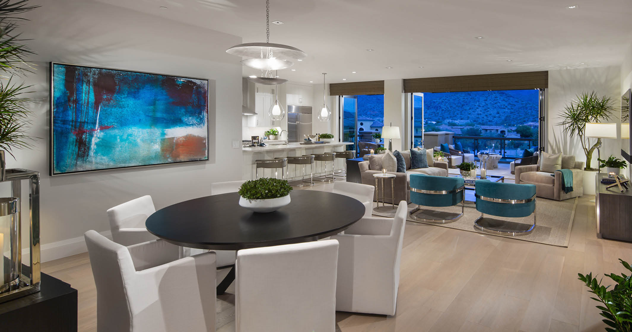 Plan 2 Model Home Dining Area
