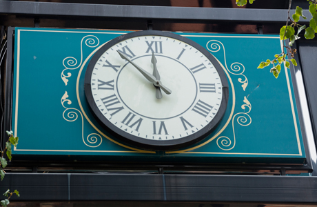 Vacaville Clock Downtown