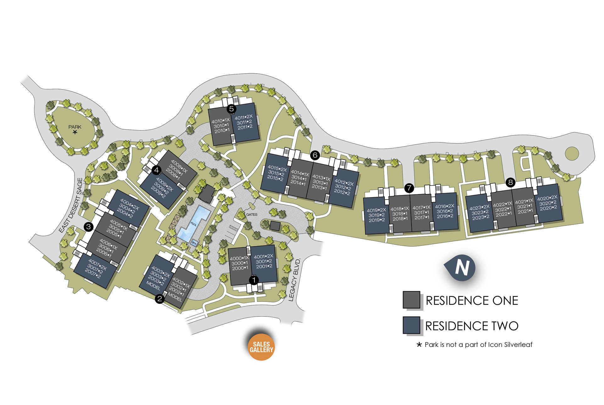 ICON Site Plan