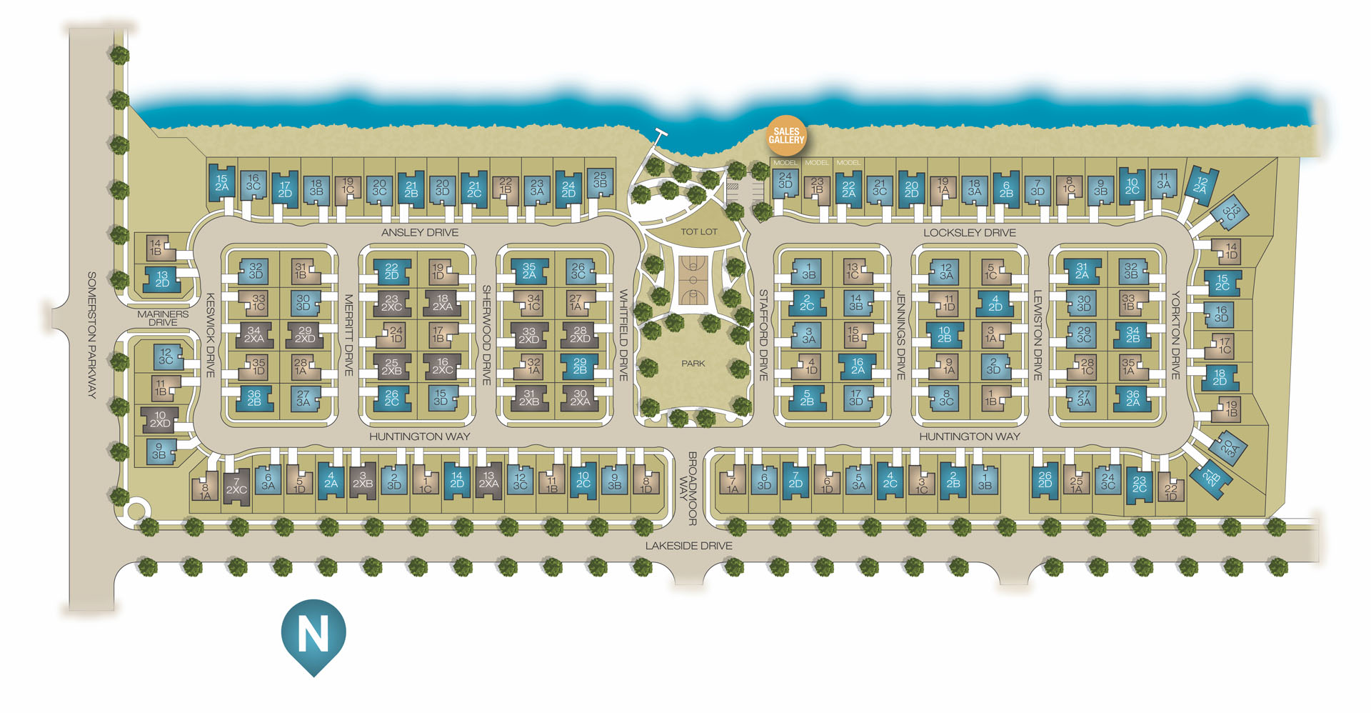 Tidewater Site Plan