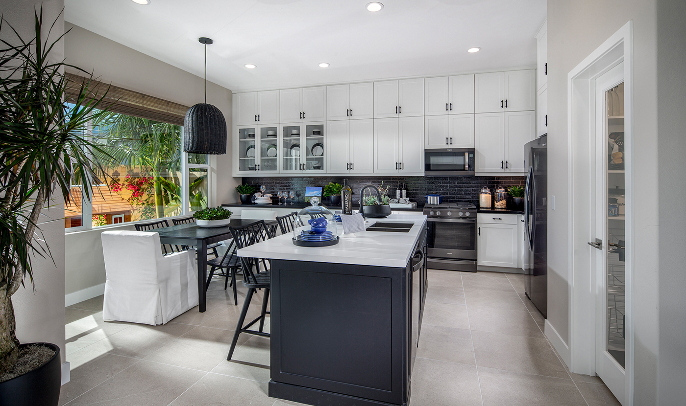 Parson Model Home kitchen