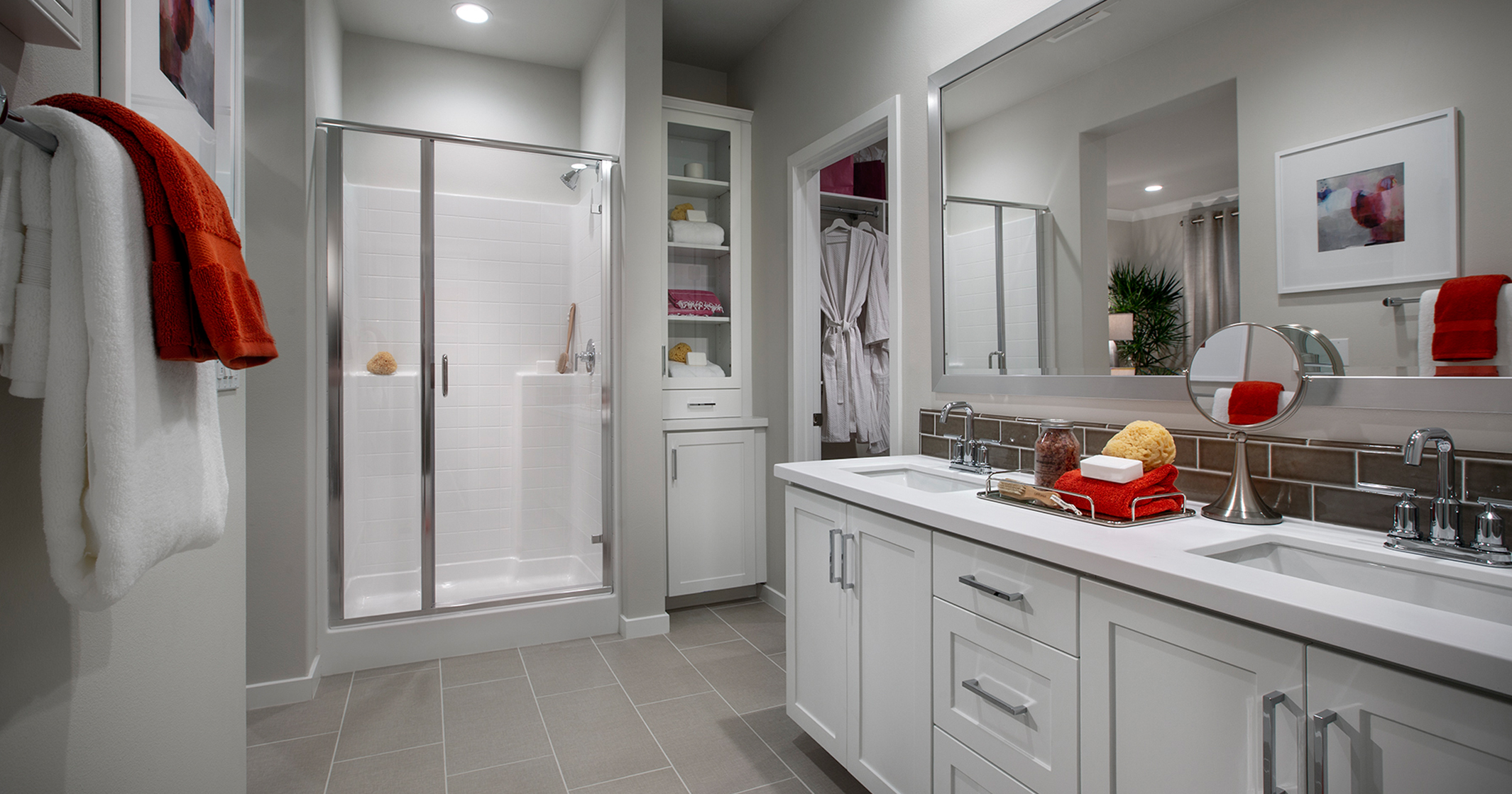 Parson Model Home Master Bath