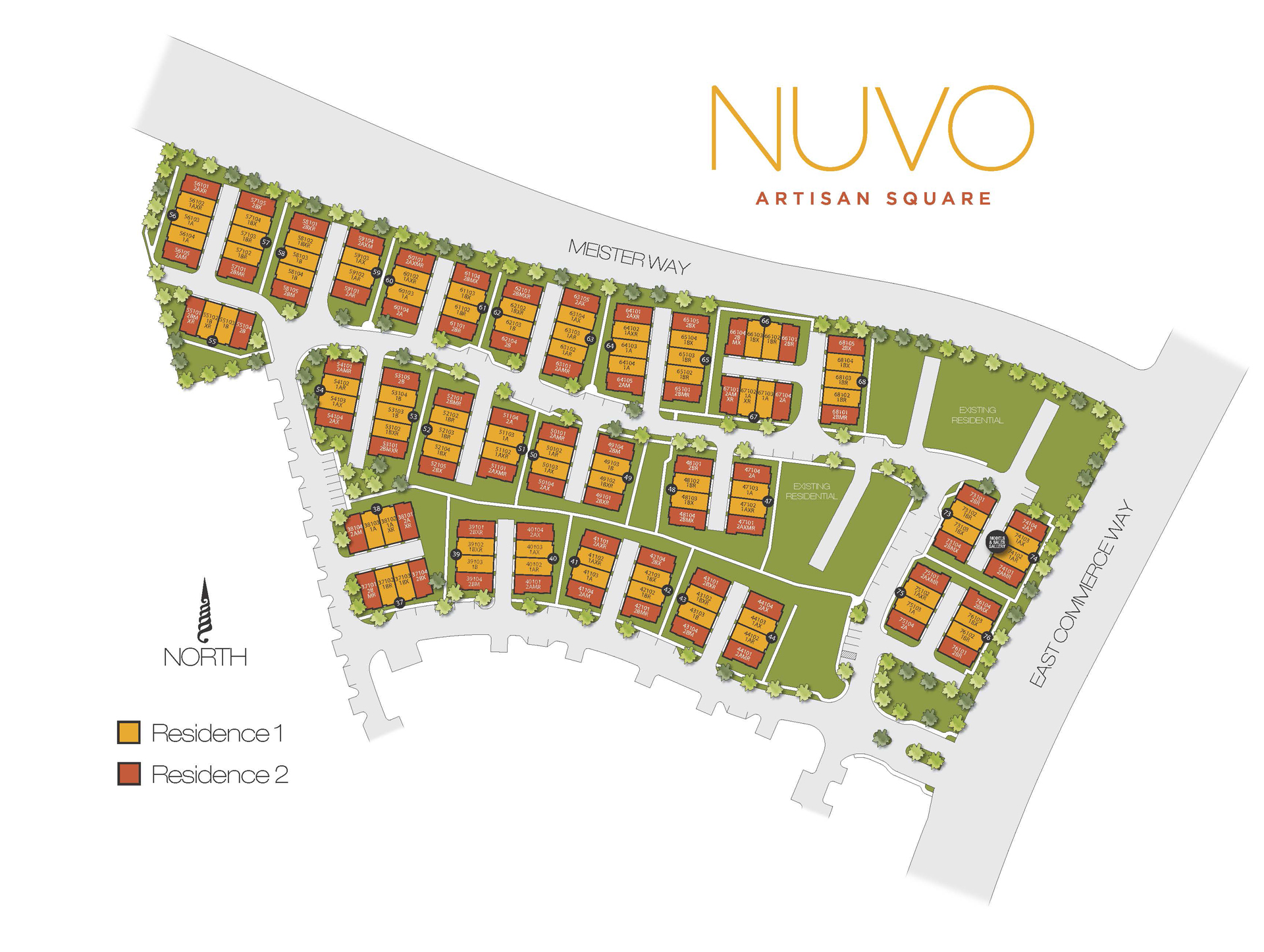 NUVO AS Site Plan