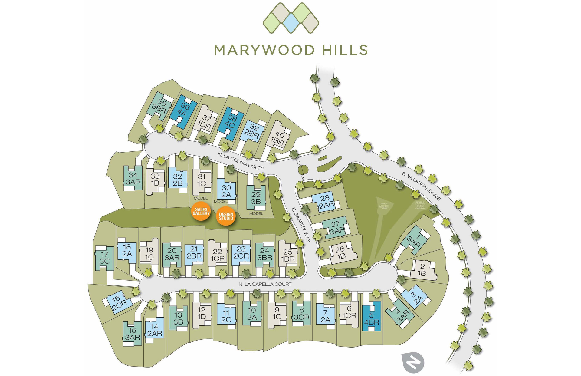 Marywood Hills Site Plan