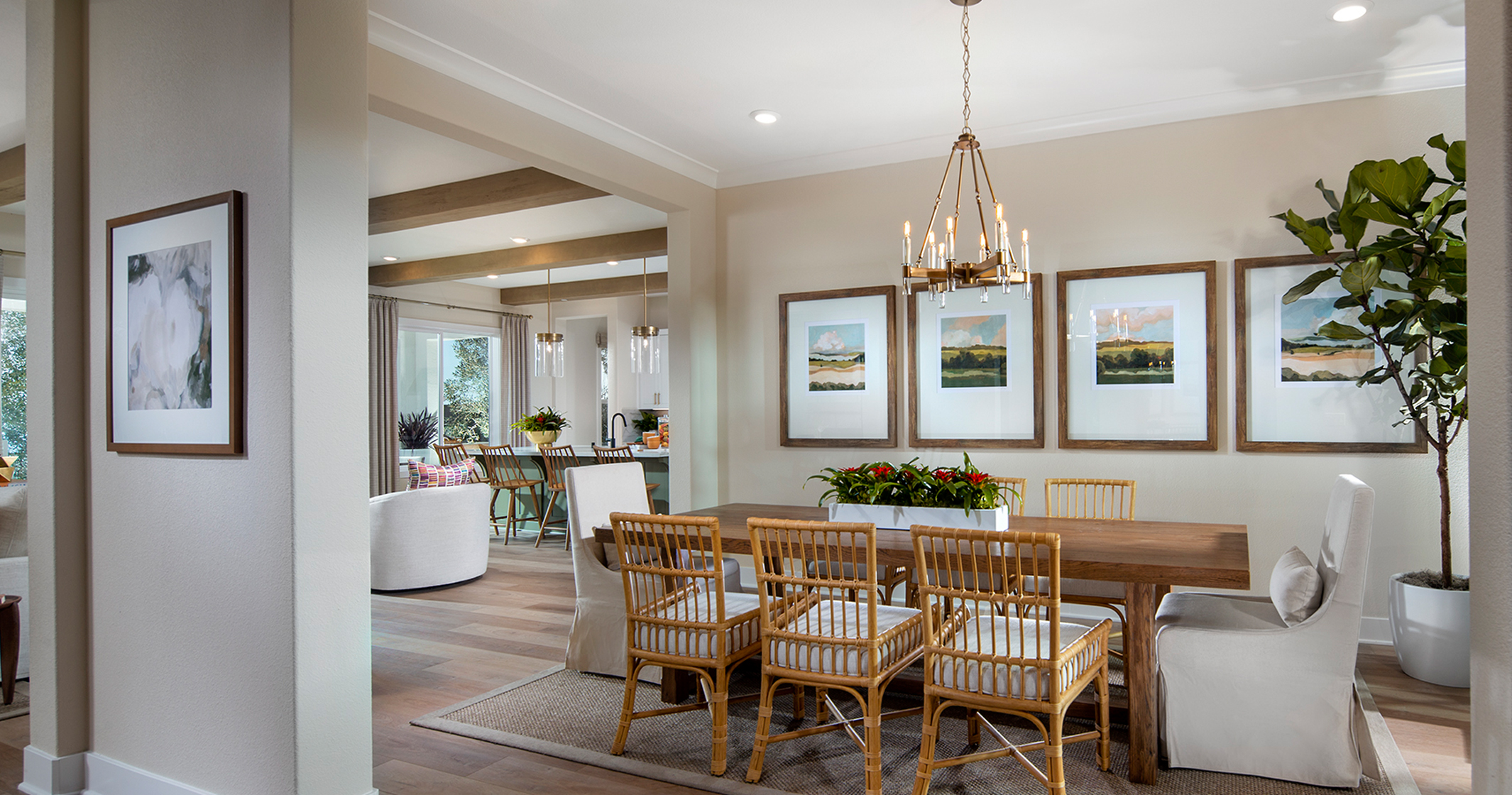 Plan 3 Model Home Dining Room