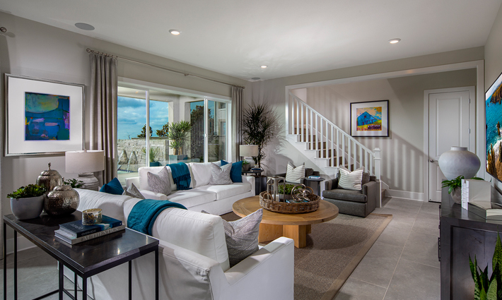 Plan 2 Model Home Great Room