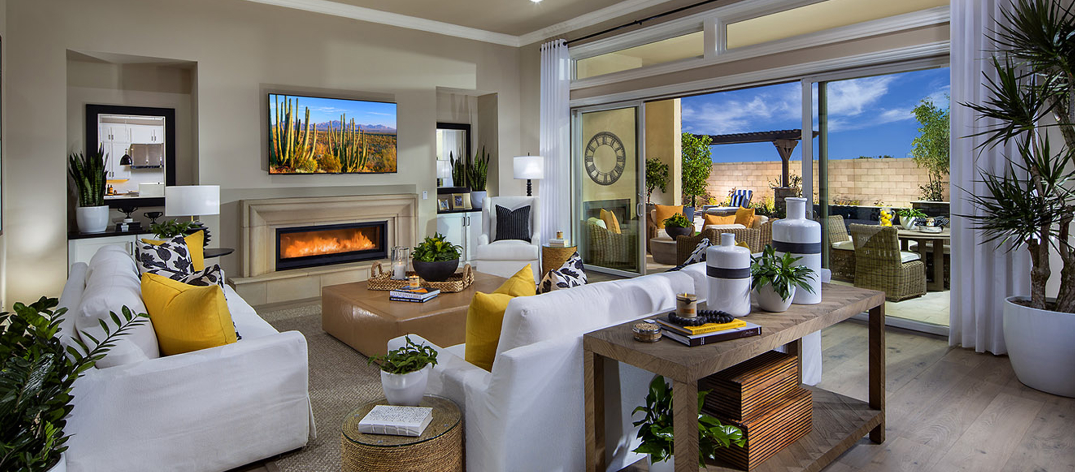 Model Home Great Room