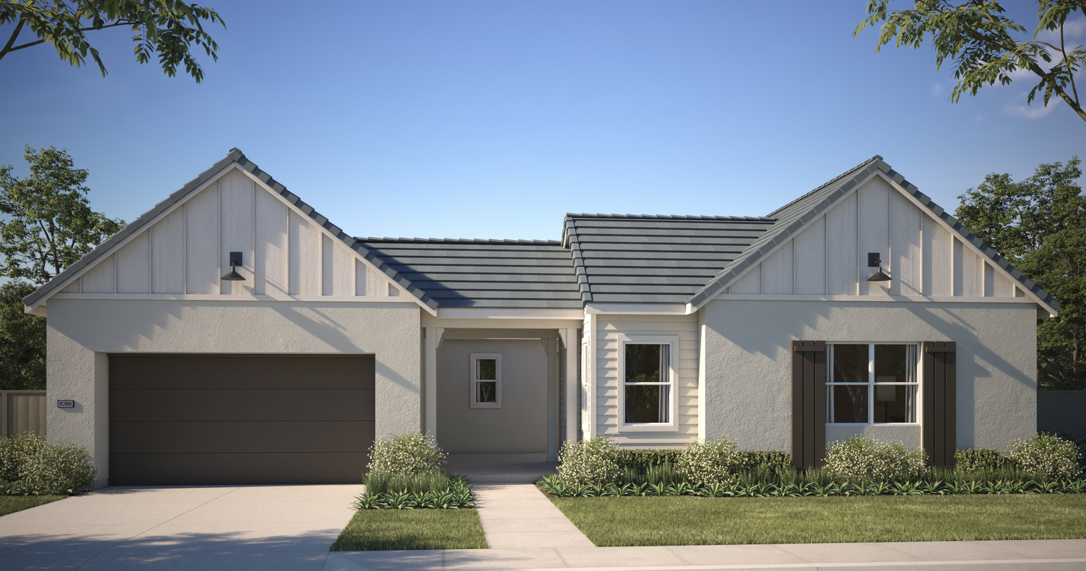 Gold Hill Exterior Rendering