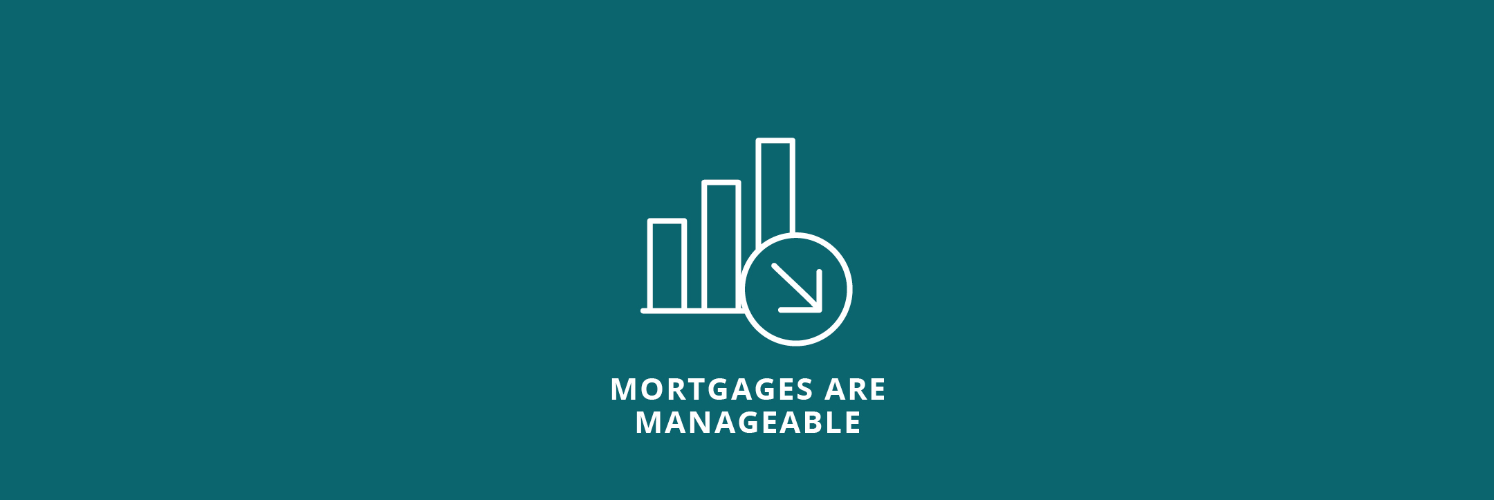 Mortgages Are Manageable